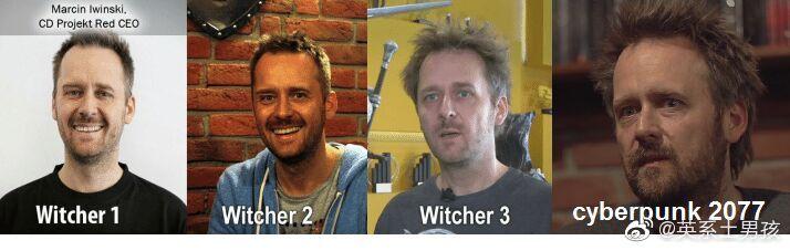 国外网友回顾CDPR的游戏进化史 创始人的发型亮了