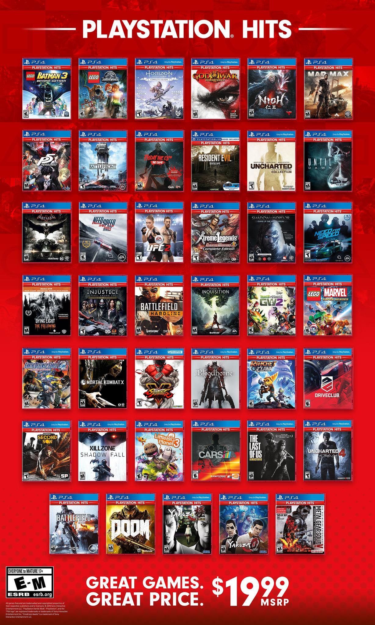 只要19.99美元! 《P5》《战神3》6月28日加入PS Hits