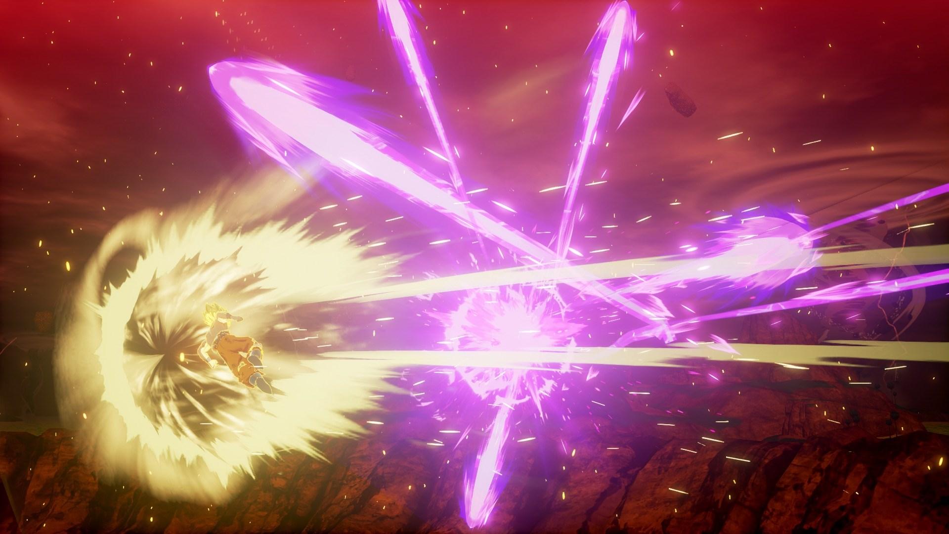 《龍珠Z:卡卡羅特》新截圖發布 戰斗特效華麗