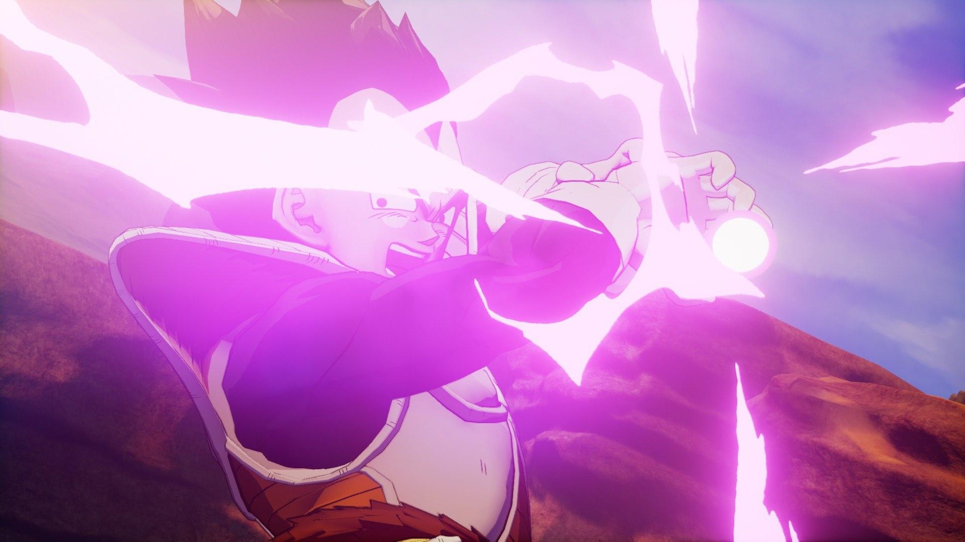 《龙珠Z:卡卡罗特》新截图发布 战斗特效华丽