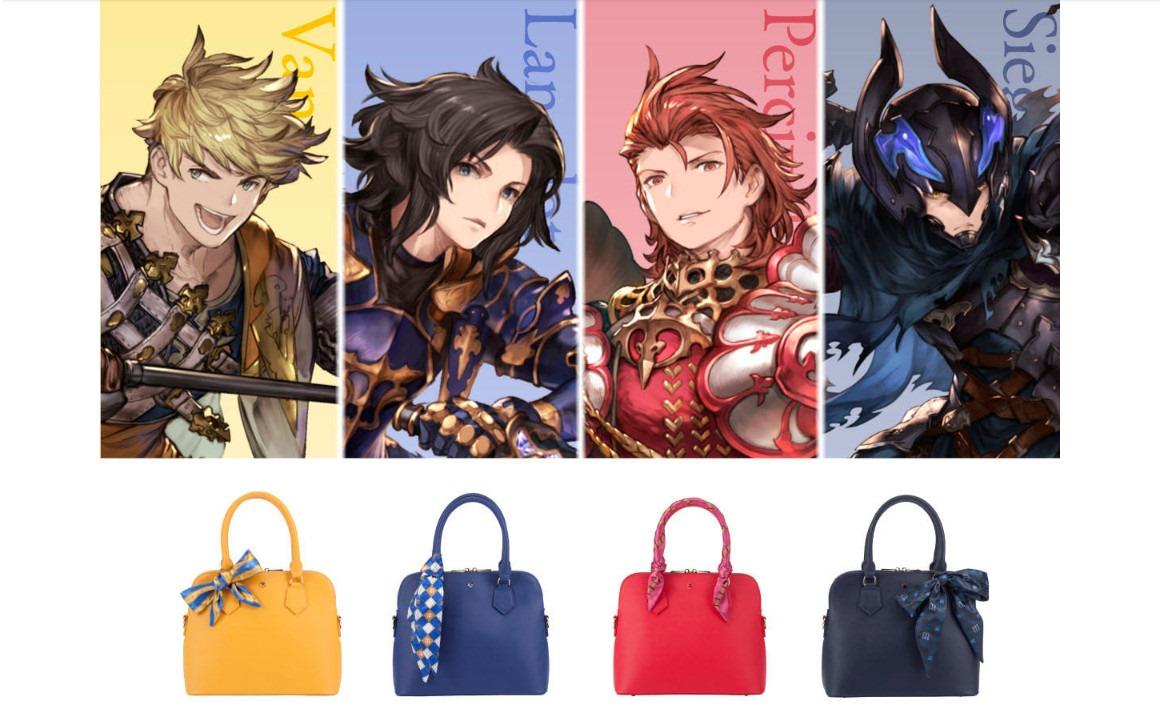 《碧藍幻想》推出實用周邊:四龍騎士主題手提包