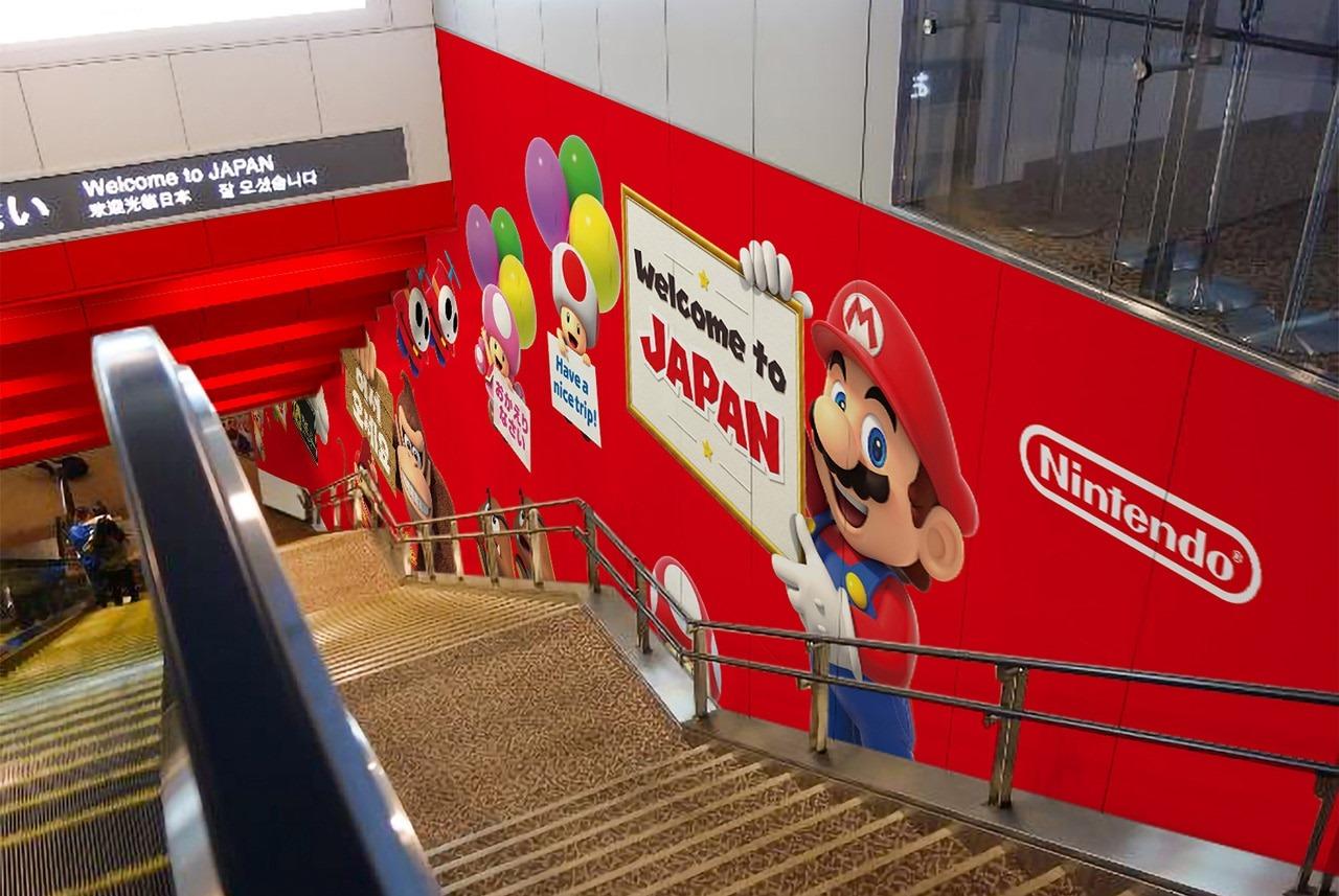 任天堂即將在東京成田機場開設游戲展示區