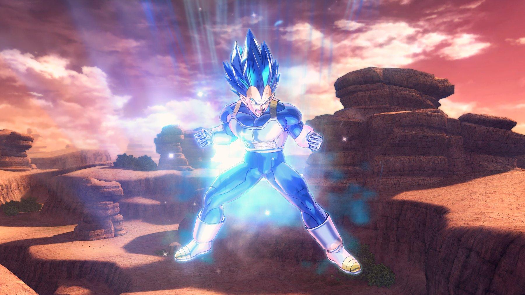 《龍珠:超宇宙2》DLC角色SSGSS貝吉塔首批截圖