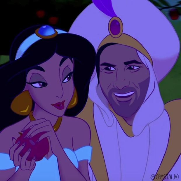 迪士尼动画男主的脸都换成基努里维斯 毫无违和感!