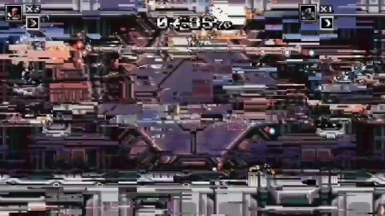 致敬魂斗罗 横版射击游戏 《炽热合金》7月11日发行