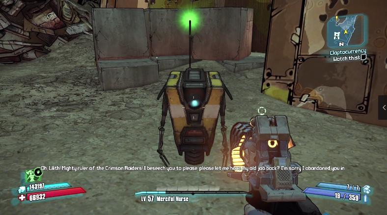 《无主之地2》新DLC疑似暗示小吵闹配音演员争端