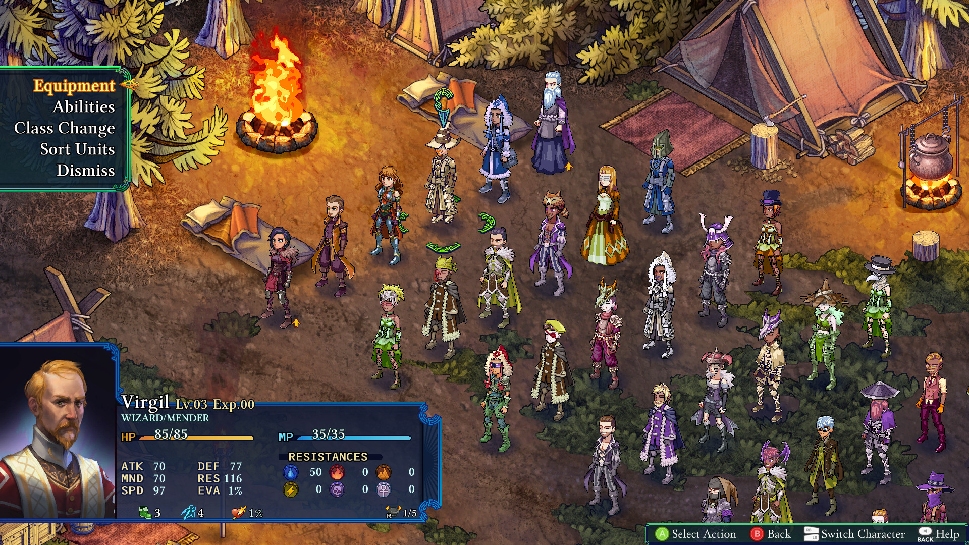 战略RPG《陷落封印:仲裁者之印》 4月30日登陆三平台