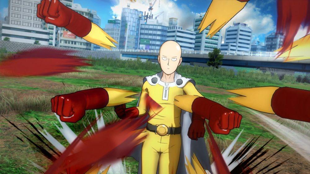 《一拳超人》游戏版首批截图/包装盒设计图展示