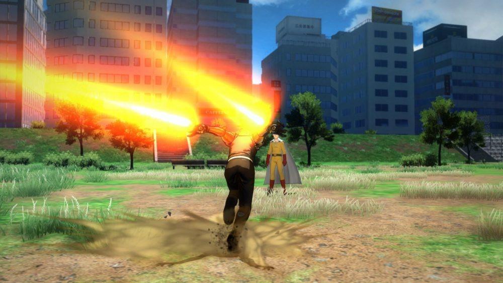 《一拳超人》游玩版始批截图/包装盒设计图展现