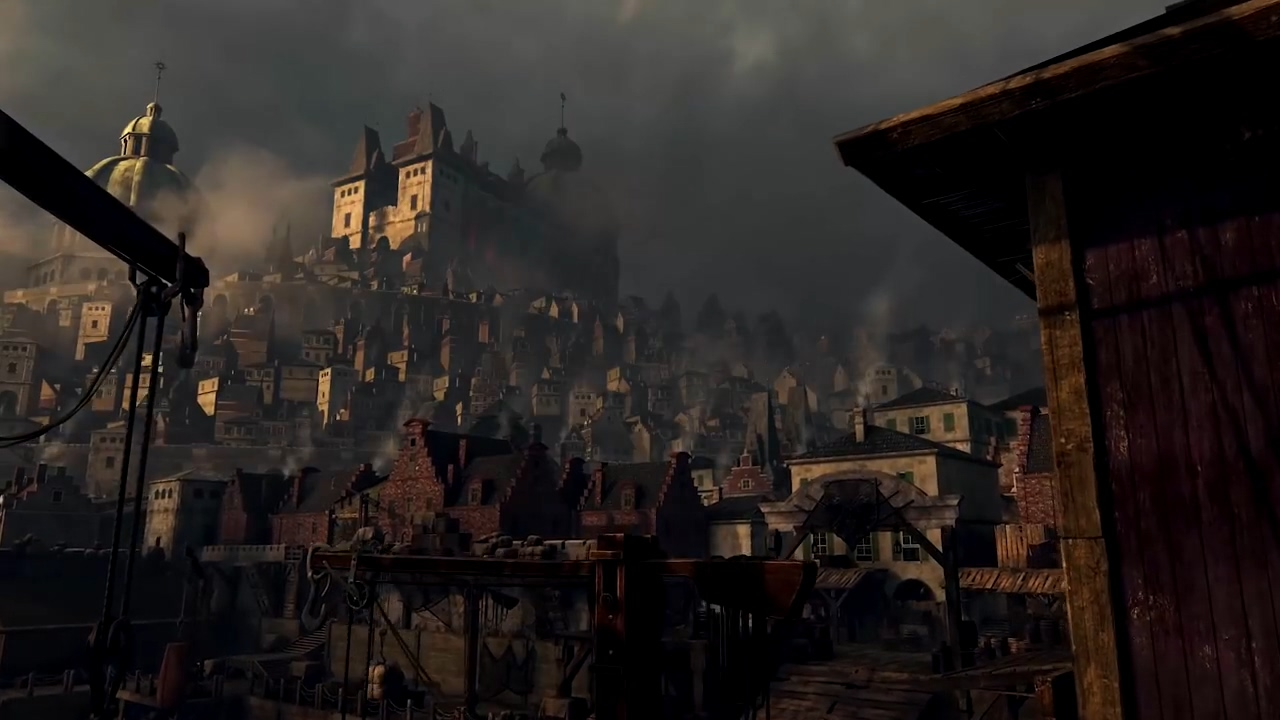 《贪婪之秋》港口城市预告片 被恐怖瘟疫摧残的