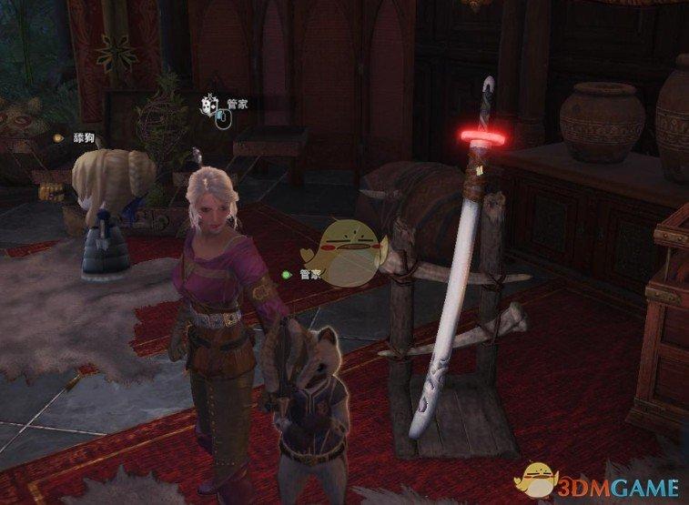 《怪物猎人:世界》琉姬太刀MOD