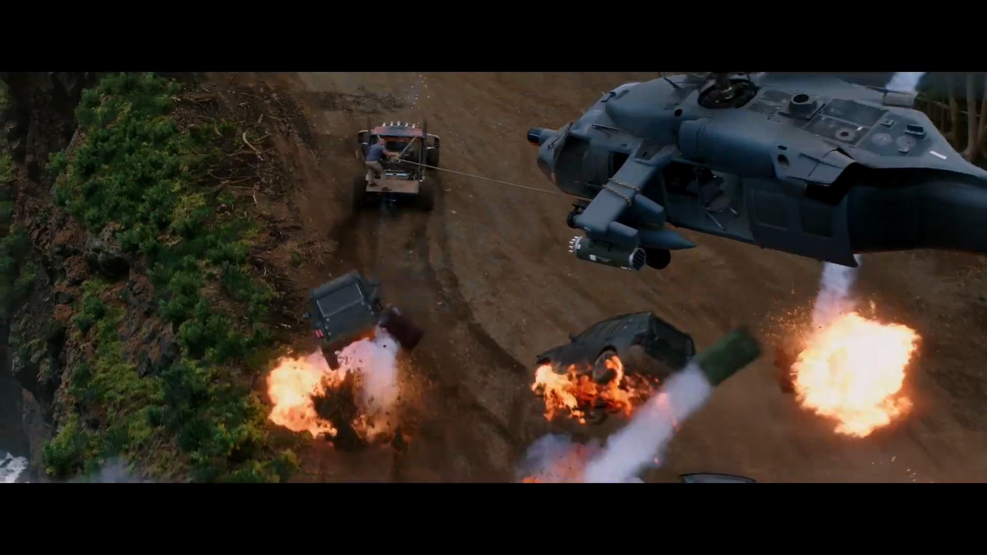 《速度与激情:特别行动》终极版预告 玩命空陆大战