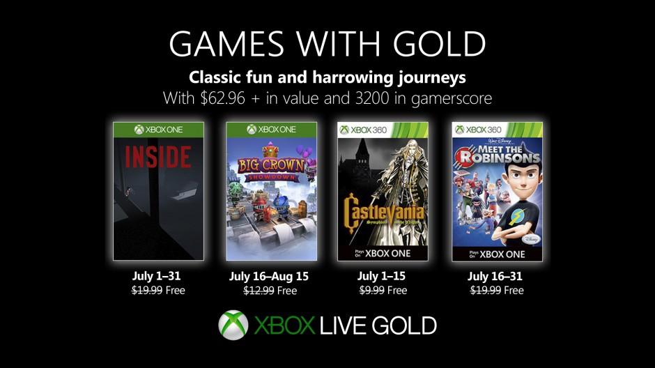 Xbox金会员7月会免公布 来重温《恶魔城月下夜想曲》