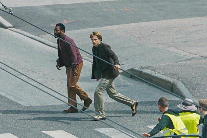 诺兰新片《信条》现场照曝光 影片投资超2亿美元