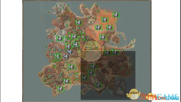 《剑士》显示地图上所有位置MOD