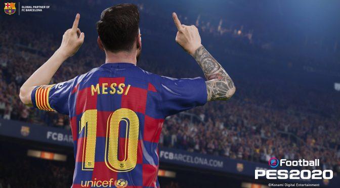 科乐美将于7月推出《eFootball实况足球2020》PC试玩版