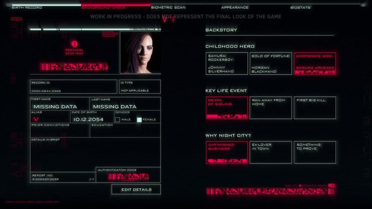 赛博朋克2077可自定义主角 赛博朋克2077开局选哪个什么好/开局选择有什么不一样 赛博朋克2077好玩吗/值得买吗