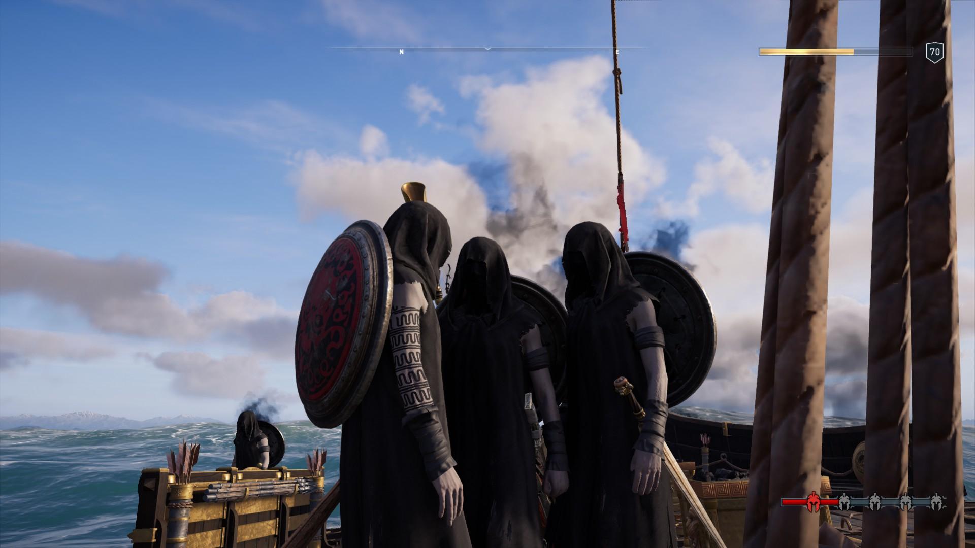 《刺客信条:奥德赛》全船只氪金外观一览