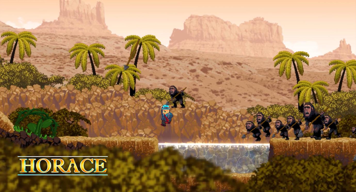 电影风格跳台动作游戏《HORACE》7月18日上线PC平台