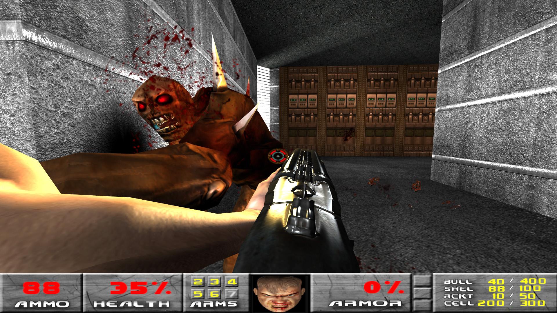 独立可玩Mod!大神利用《毁灭战士3》引擎重制1&2代游戏