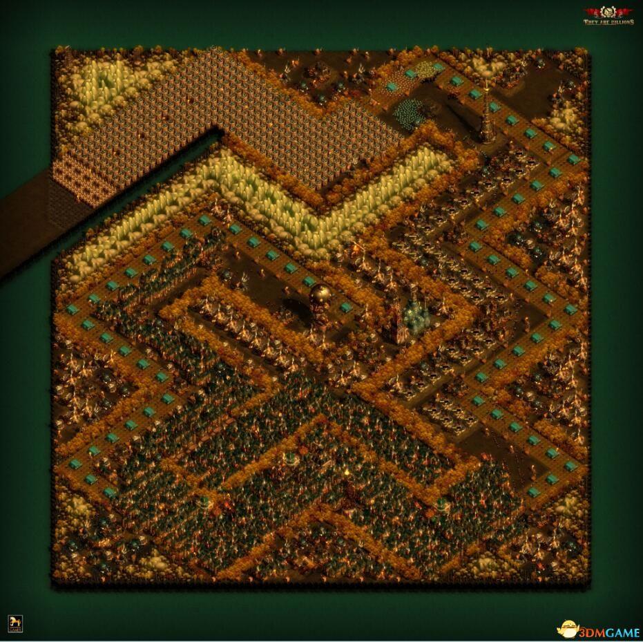 《亿万僵尸》曲折小径地图MOD