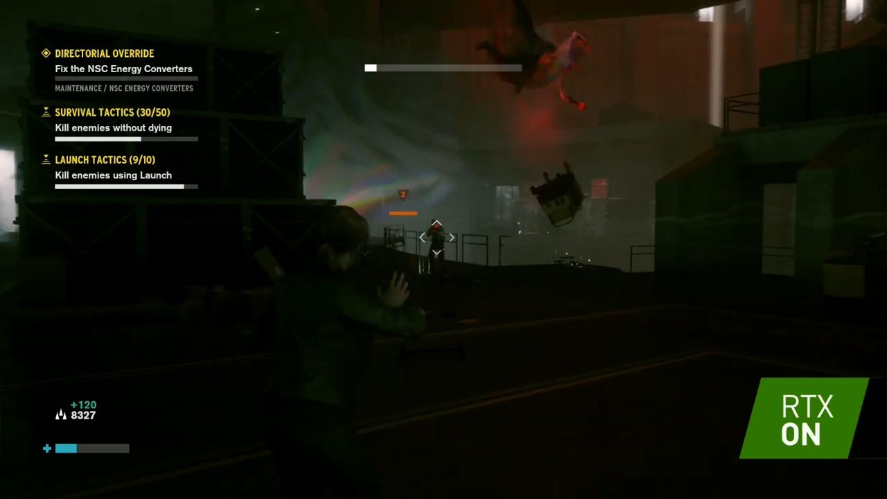 《控制》PC版26分钟演示 光线追踪开启