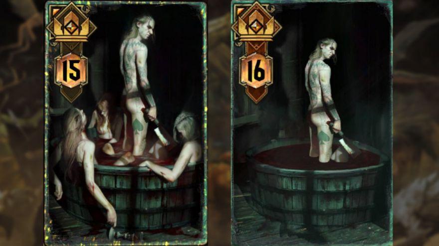 《巫师:昆特牌》也遭和谐 果女尸体没了玩家吐槽