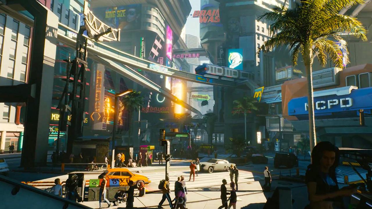 《赛博朋克2077》:游戏中将有大量可以进去的建筑