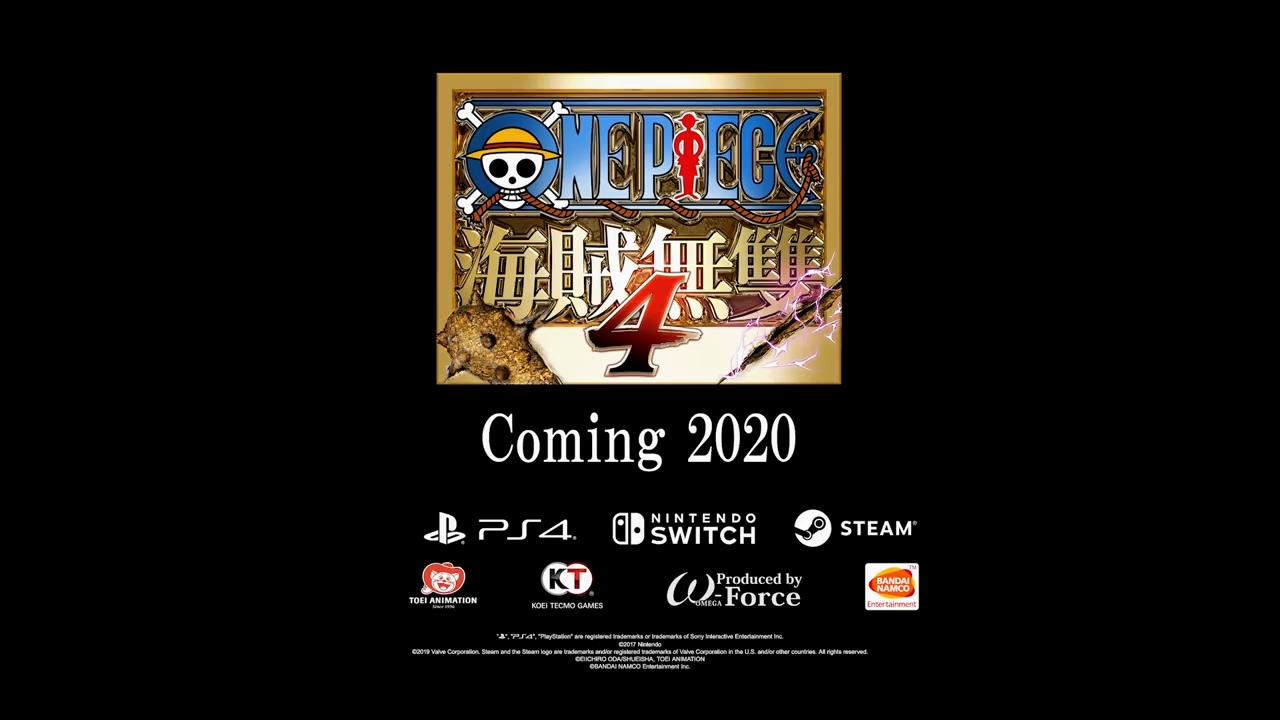 《海贼无双4》确认支持繁体中文 对应PS4/PC/Switch平台