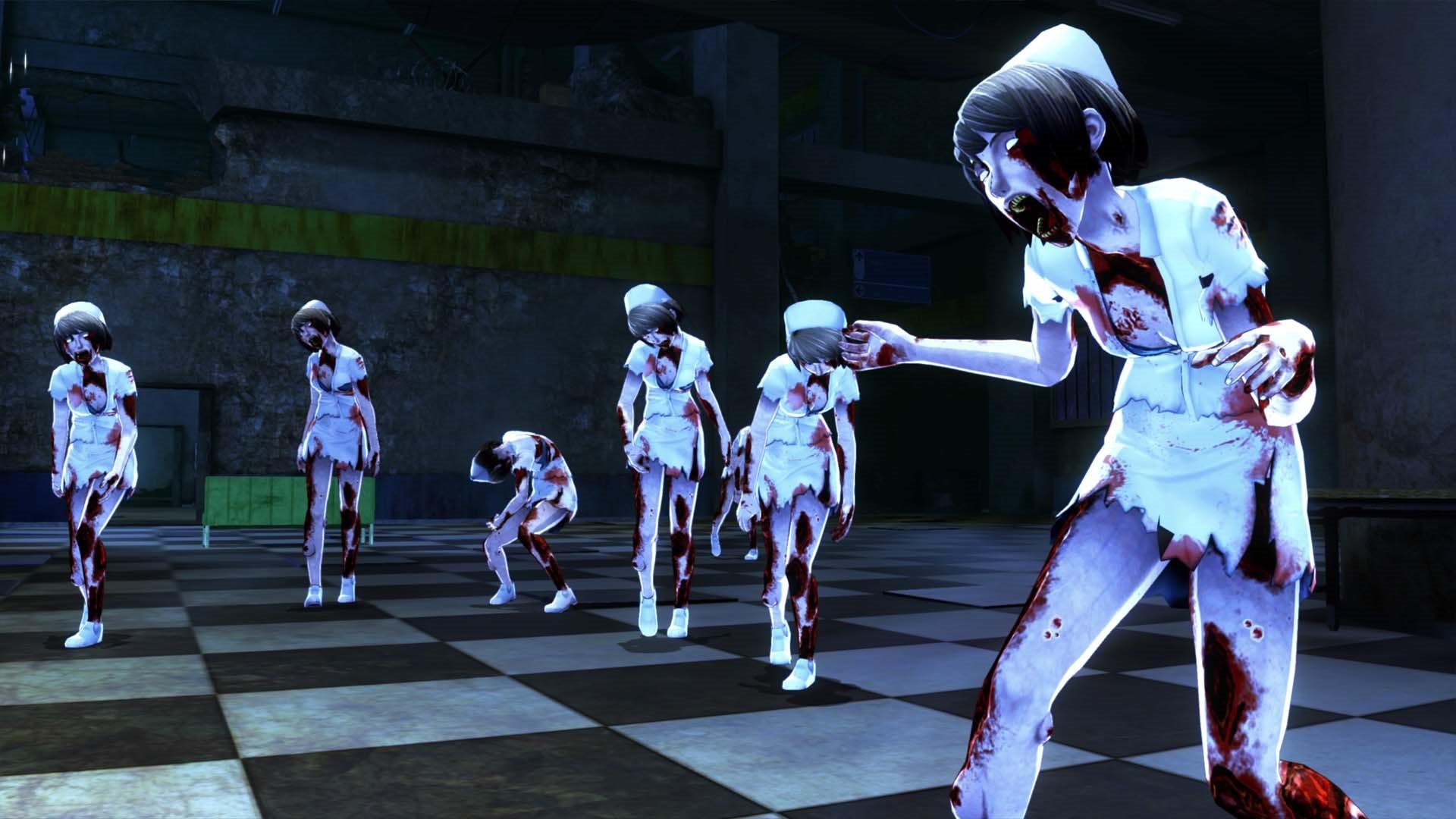 《御姐玫瑰:起源》新截图 比基尼美女大战护士僵尸