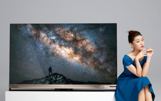 叫板索尼!海信发布65寸叠屏电视 售价1.8万