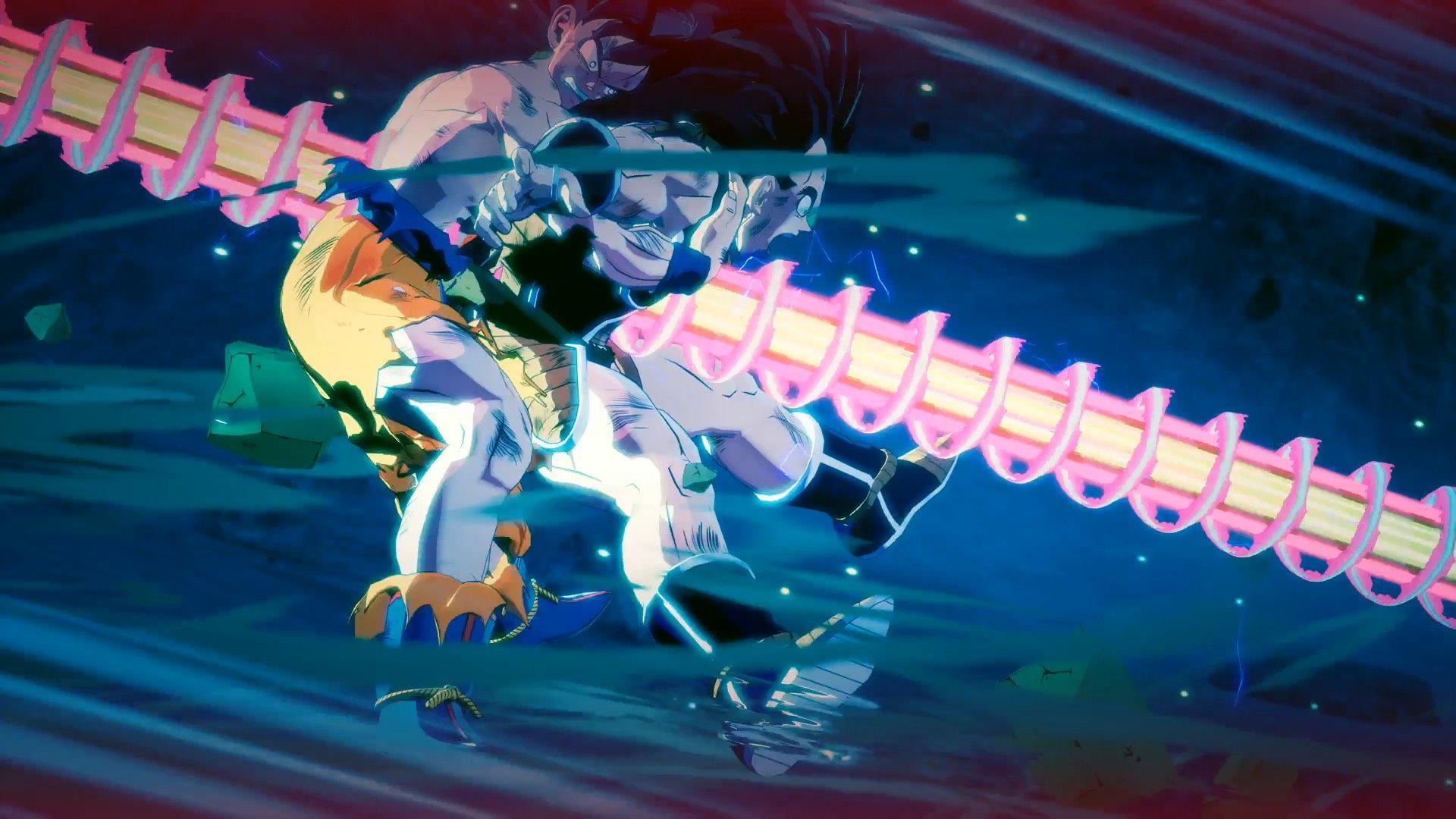 战斗力只有5 《龙珠Z:卡卡罗特》截图展示拉蒂兹和那巴