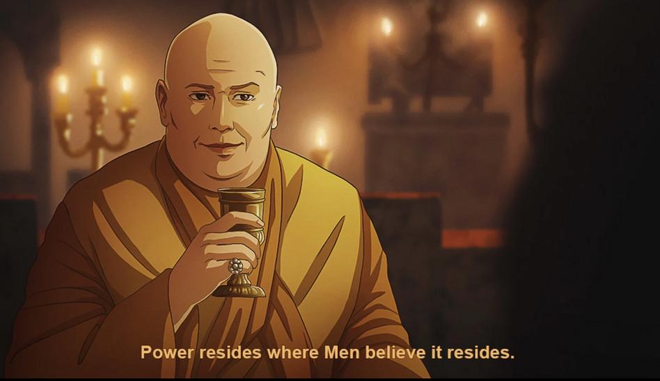 当《权力的游戏》遇上动漫风格?画师展示大片向作品