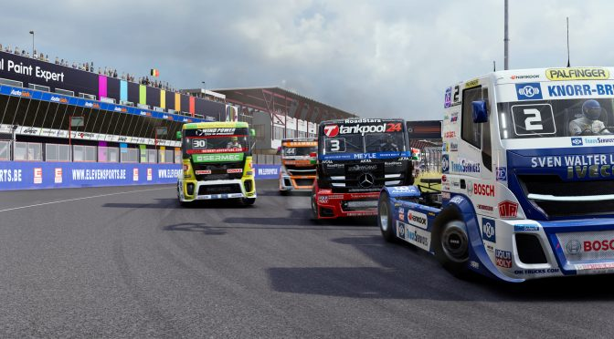 《FIA欧洲卡车锦标赛》7月18日推出 新预告展示