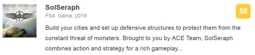 世嘉横版动作新游《SolSeraph》IGN 6.5分:致敬经典却过于单薄