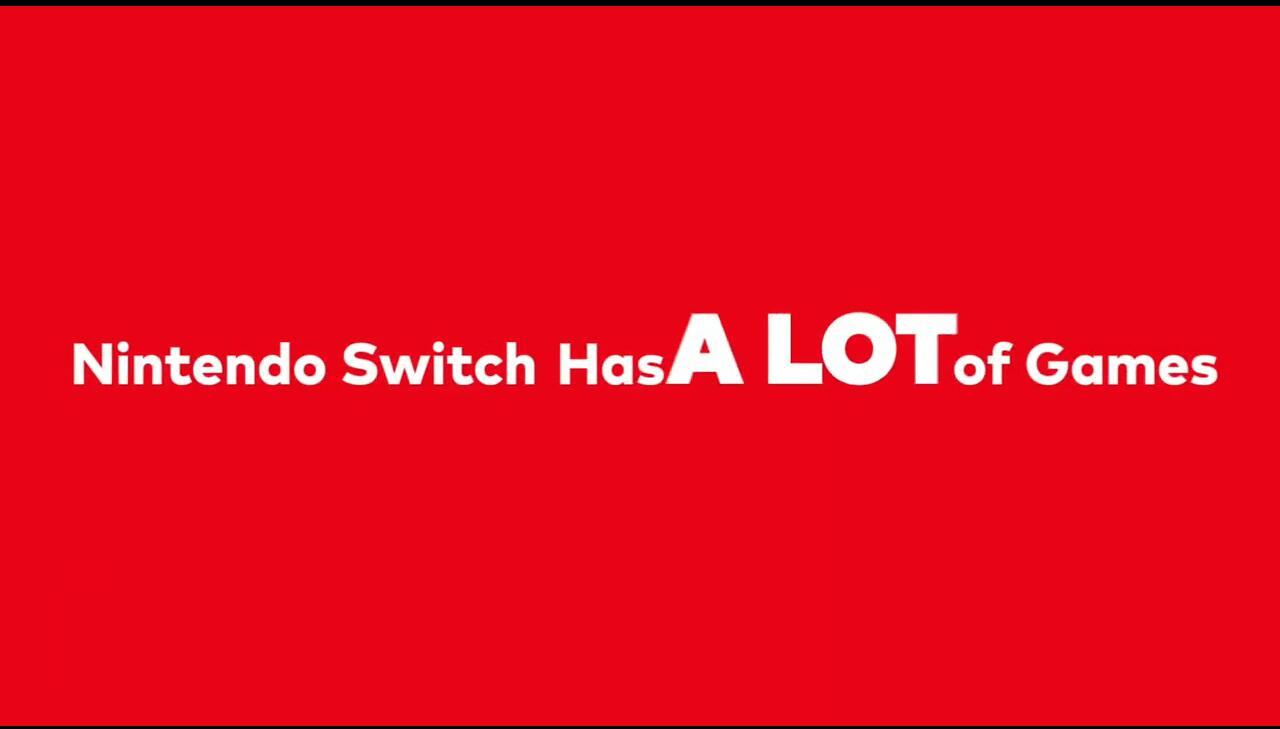 Switch游戏少?任天堂:我们可是有2500+游戏阵容!
