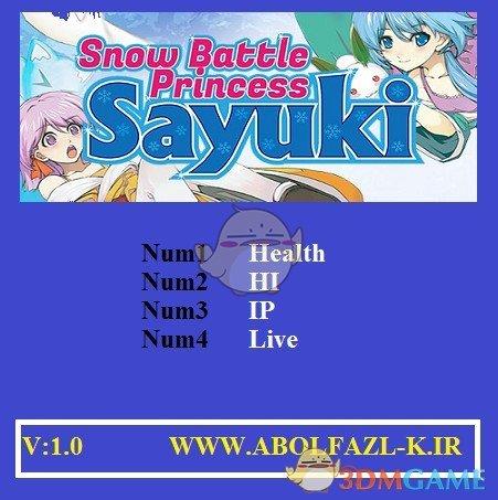 《雪女大旋风:纱雪与小雪的冰冻大骚动》v1.0四项修改器[Abolfazl]