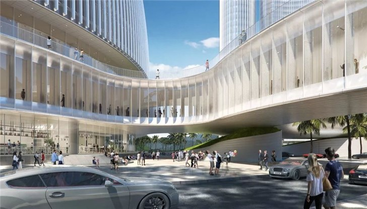 OPPO新研发中心正式启动:10栋全玻璃大楼 46万平米