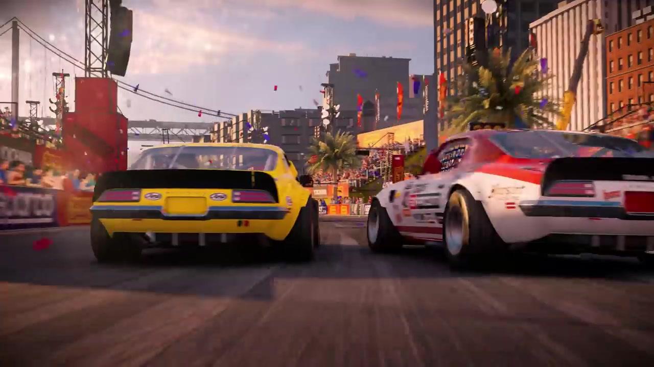 Codemasters新作《超级房车赛》基于引擎预告片展示