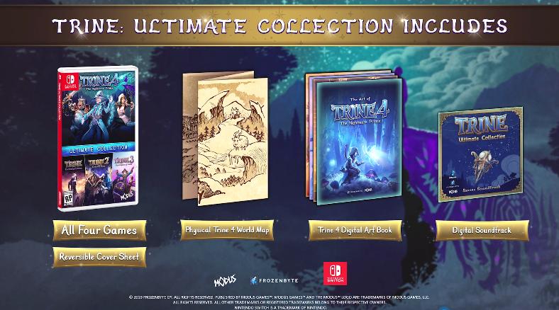《三位一体:终极收藏版》将登陆NS 实体版含多种周边