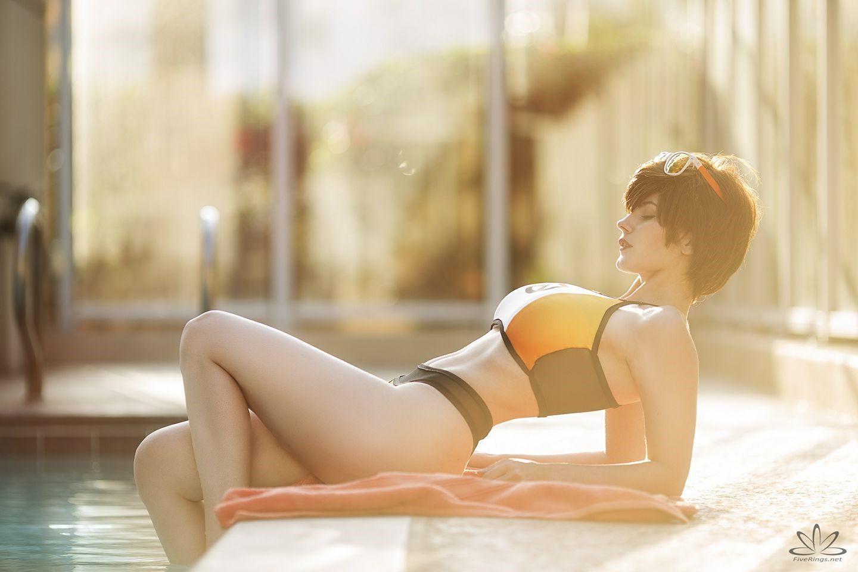 国外美女Coser美图合集 前凸后翘身材有料颜值高