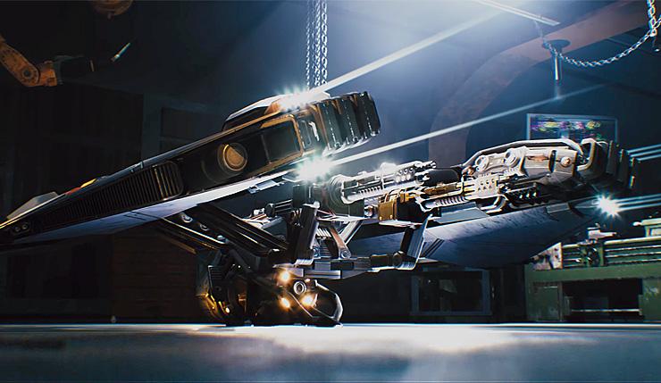 《光环》联合创始人科幻射击新作《崩解(Disintegration)》公布