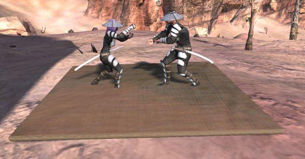 《剑士》防御和武术陪练毯子MOD