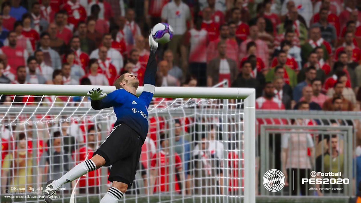 《实况足球2020》签约拜仁慕尼黑 新预告截图公布
