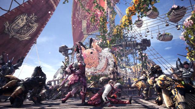 一个月体验四季 《怪物猎人:世界》将连续五周举办星辰祭