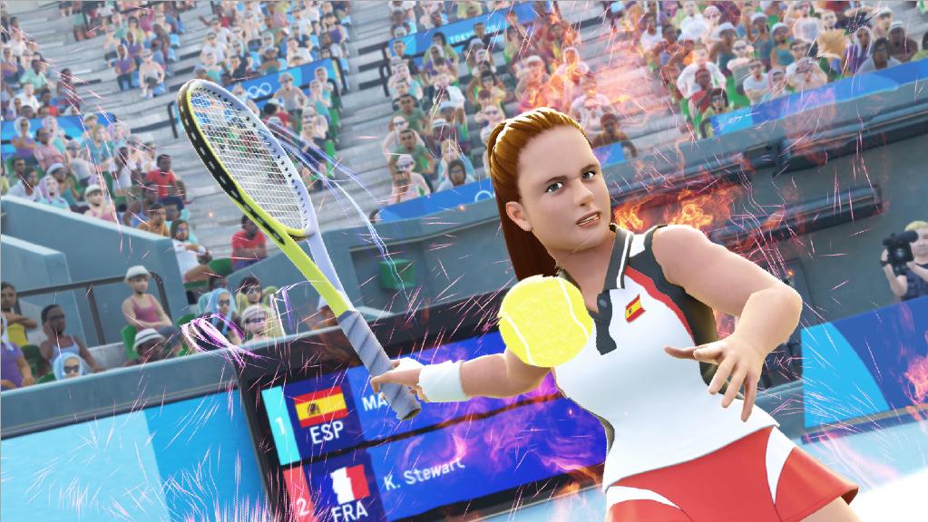 《2020东京奥运 官方授权游戏》网球操作方法介绍