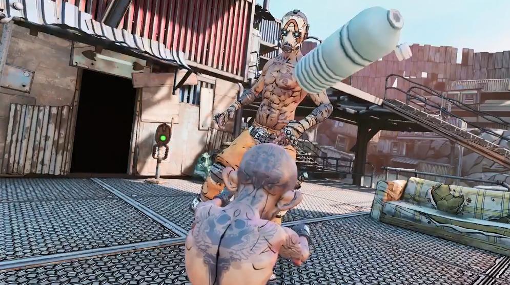 《无主之地3》也来参加瓶盖挑战 动作娴熟技术硬核