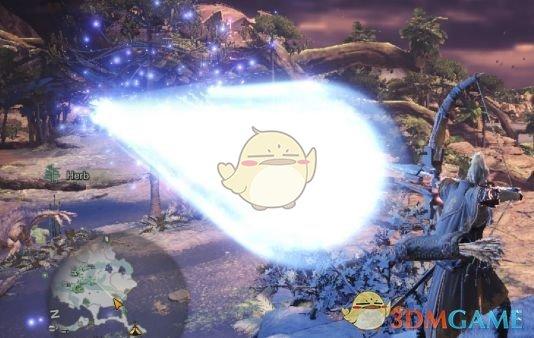 《怪物猎人:世界》弓射击特效变为冥灯龙激光MOD