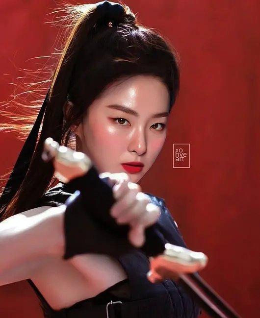 挑战刘亦菲?韩国网友给《花木兰》海报换脸自家爱豆
