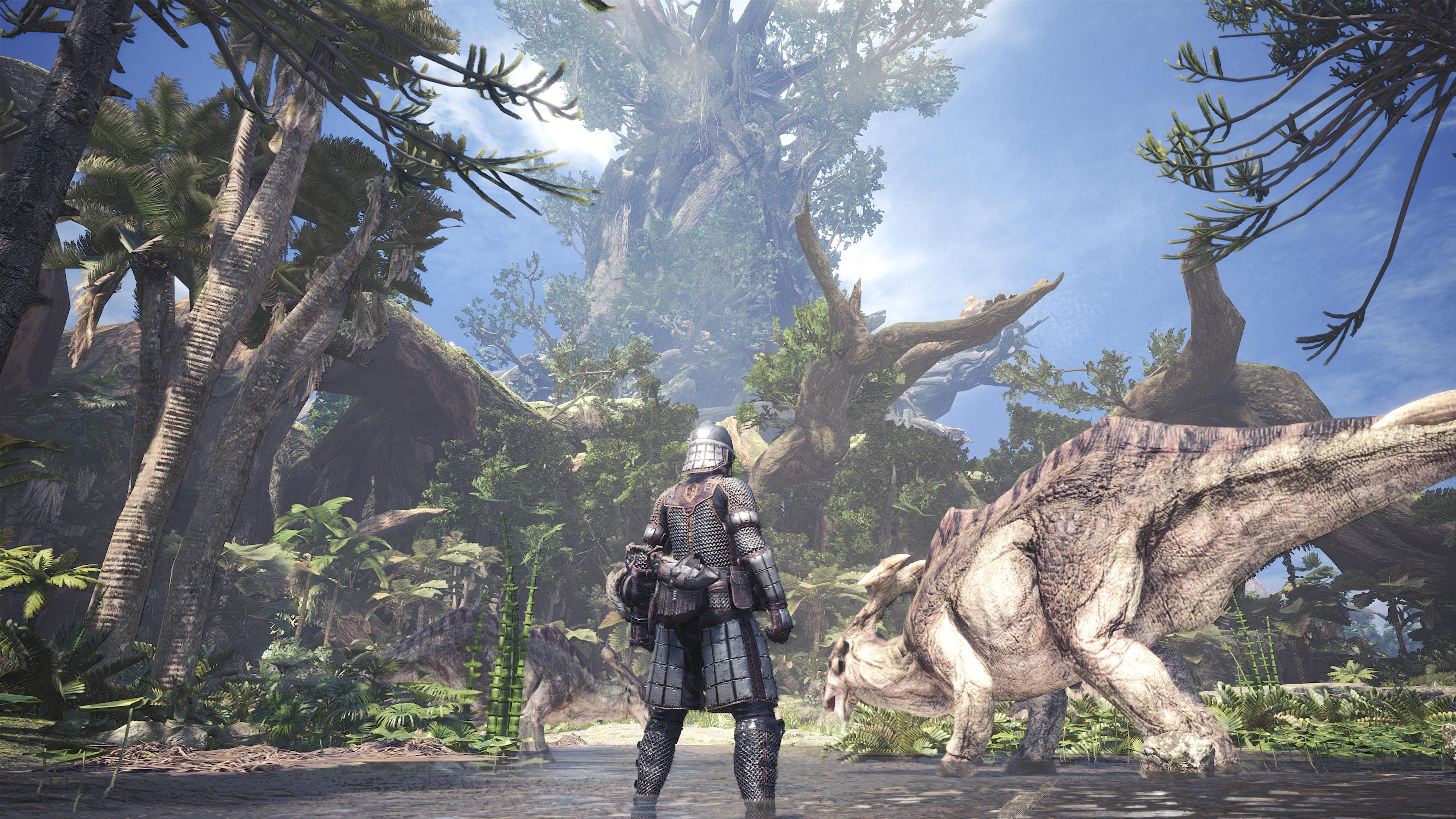 《怪物猎人:世界》DLSS截图 NV表示性能最高提升50%